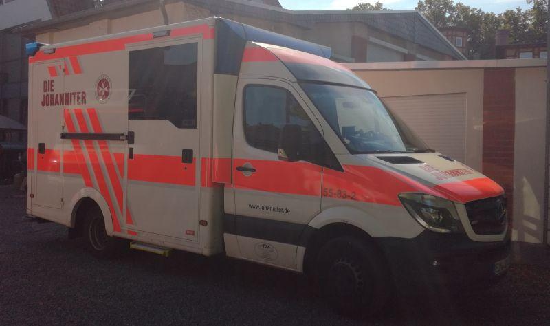 Rettungswagen JUH 2